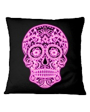 StyleLadySkullOK Square Pillowcase thumbnail