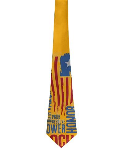 American theme tie