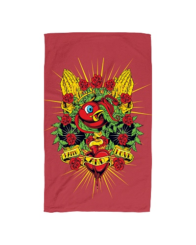 Faith And Love Hands Towel
