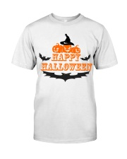 Happy Halloween T Shirt Funny  Classic T-Shirt front