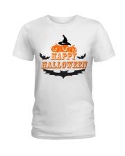 Happy Halloween T Shirt Funny  Ladies T-Shirt thumbnail
