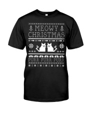 Meowy Christmas Purr Purr TShirt Classic T-Shirt front