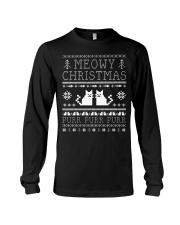 Meowy Christmas Purr Purr TShirt Long Sleeve Tee thumbnail