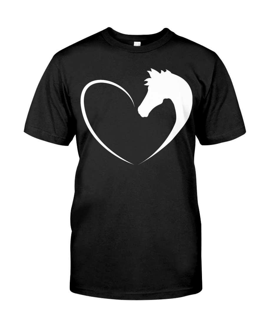 Horse love shirt Horse T-Shirt Classic T-Shirt