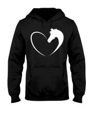 Horse love shirt Horse T-Shirt Hooded Sweatshirt thumbnail