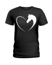 Horse love shirt Horse T-Shirt Ladies T-Shirt thumbnail