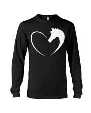 Horse love shirt Horse T-Shirt Long Sleeve Tee thumbnail