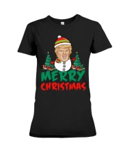 Merry Christmas Snowtrump T-shirt Premium Fit Ladies Tee thumbnail
