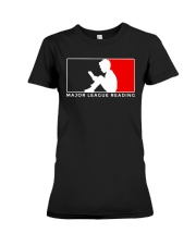 Major League Reading TShirt Premium Fit Ladies Tee thumbnail