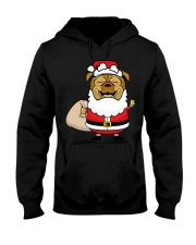 Santaclaus Dog T-shirt Hooded Sweatshirt thumbnail