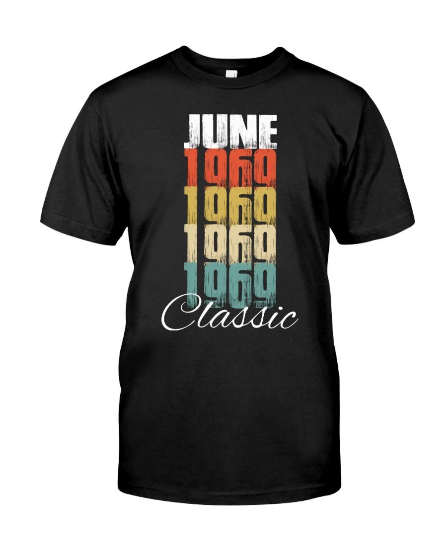June 1969 49 Aged Classic TShirt Classic T-Shirt