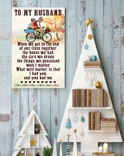 To My husband old bike 11x17 Poster lifestyle-holiday-poster-2
