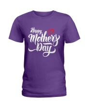 happy mothers day Ladies T-Shirt front