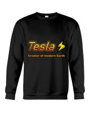 Tesla  Crewneck Sweatshirt front