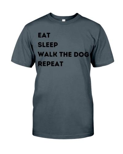 Eat Sleep Walk the Dog Repeat t-shirt