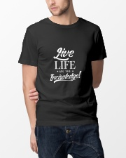 Live Life On The Incisaledge Classic T-Shirt lifestyle-mens-crewneck-front-14