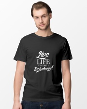 Live Life On The Incisaledge Classic T-Shirt lifestyle-mens-crewneck-front-15