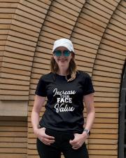 Increase Your Face Value Ladies T-Shirt lifestyle-women-crewneck-front-4