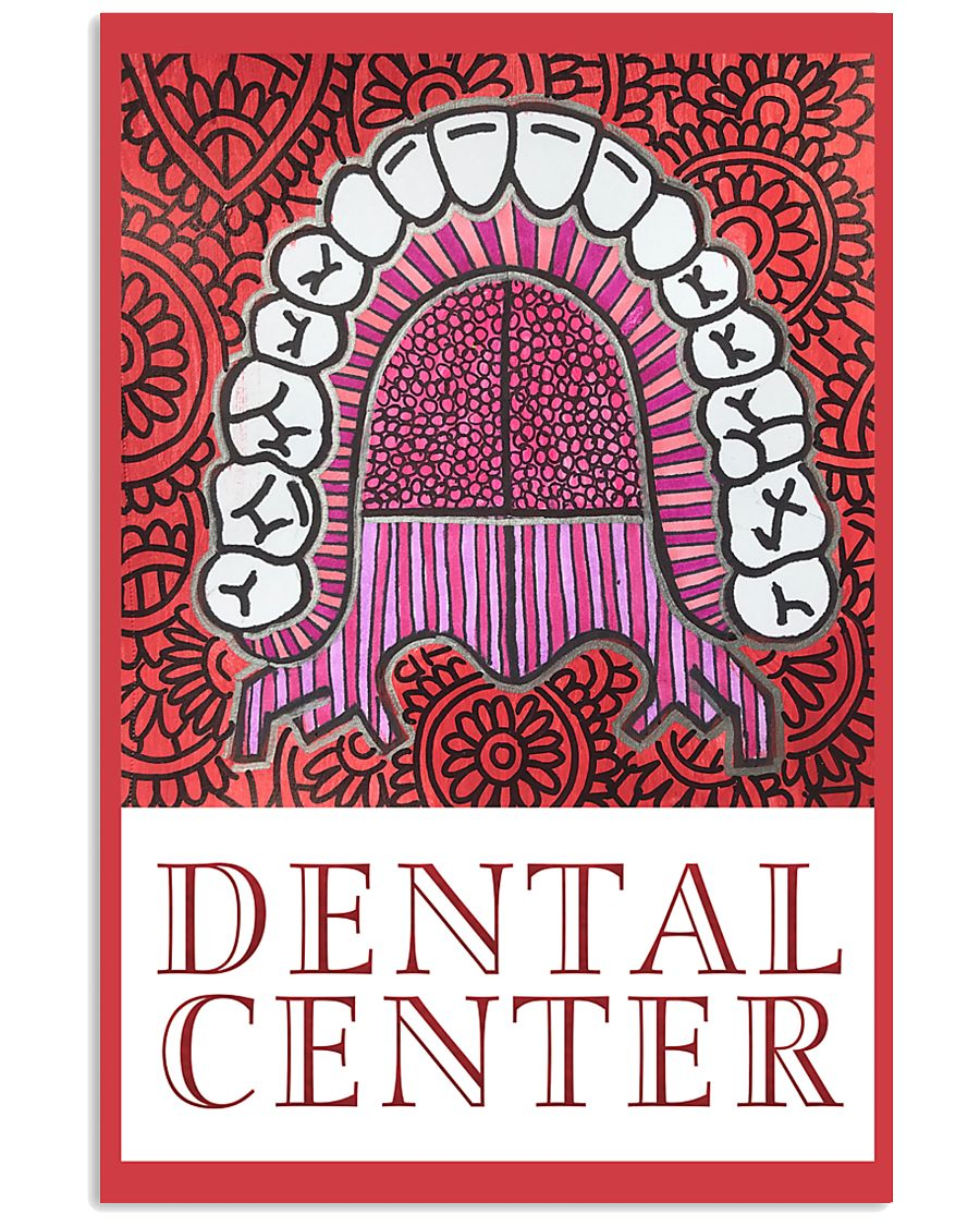 Dental Center Banner Poster 11x17 Poster
