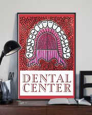 Dental Center Banner Poster 11x17 Poster lifestyle-poster-2