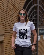 Hit The Road Plaque Ladies T-Shirt lifestyle-women-crewneck-front-2