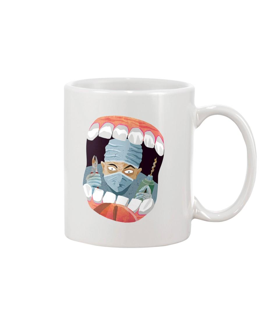 Open Please Mug