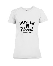 Hustle Heart Premium Fit Ladies Tee thumbnail