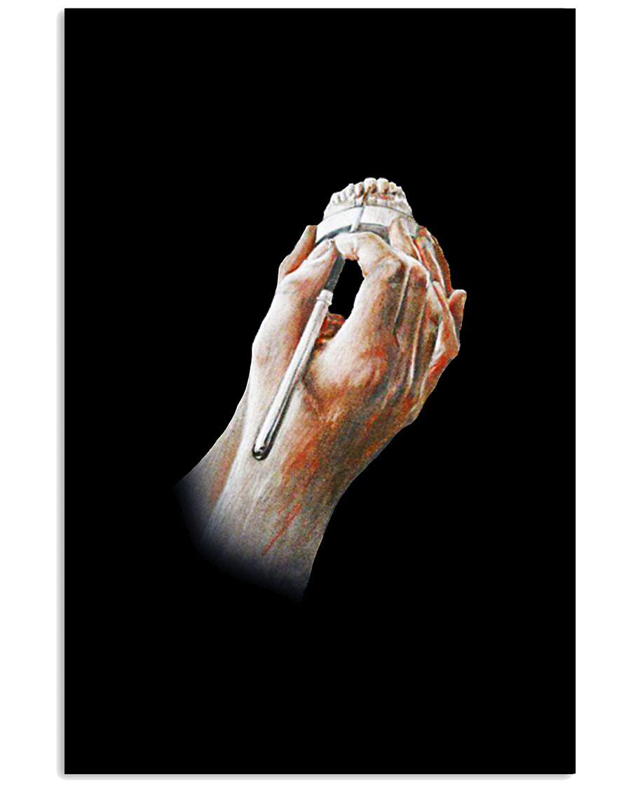 Dental Technician Hands 11x17 Poster