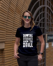 Dental Students Know The Drill Ladies T-Shirt lifestyle-women-crewneck-front-2