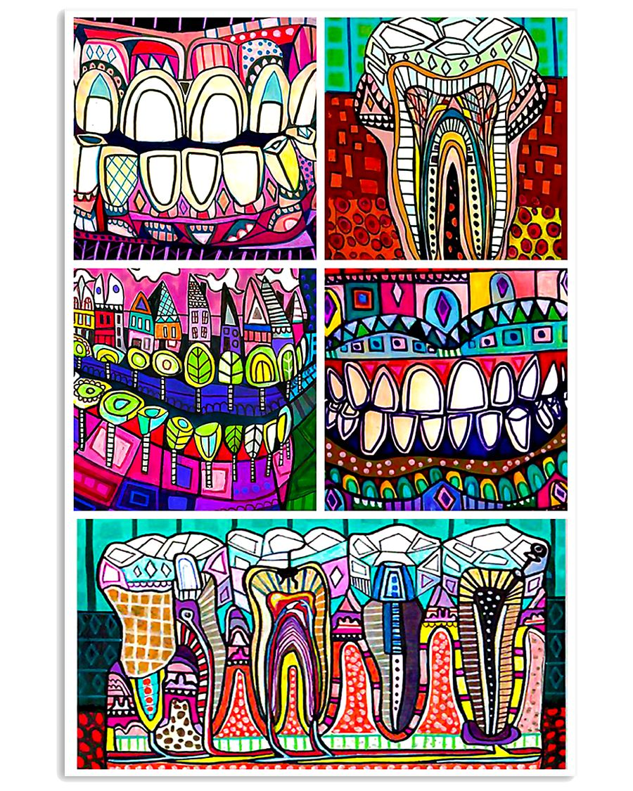Dental Art 11x17 Poster