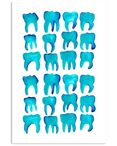 Blue Molars Poster