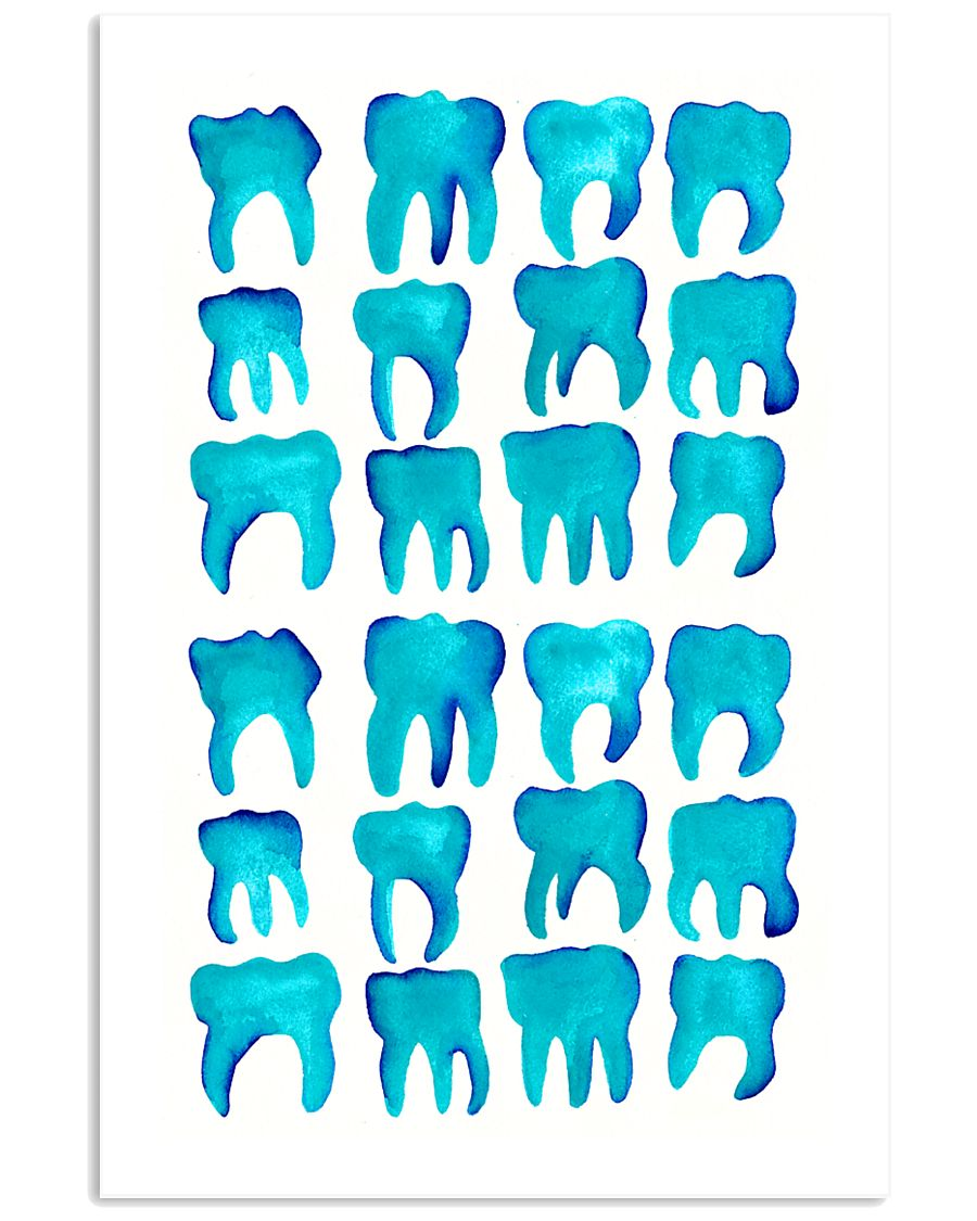 Blue Molars Poster 11x17 Poster