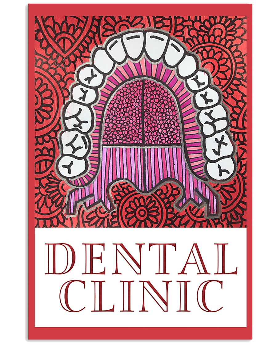 Dental Clinic Banner 11x17 Poster