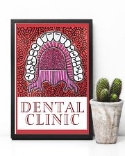 Dental Clinic Banner 11x17 Poster lifestyle-poster-8