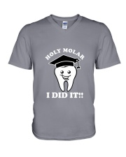 Holy Molar I did It V-Neck T-Shirt thumbnail