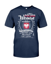 I'm a Polish Woman - I Can't Control Classic T-Shirt thumbnail