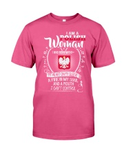 I'm a Polish Woman - I Can't Control Premium Fit Mens Tee tile