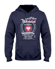 I'm a Polish Woman - I Can't Control Hooded Sweatshirt thumbnail