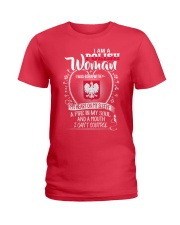 I'm a Polish Woman - I Can't Control Ladies T-Shirt front