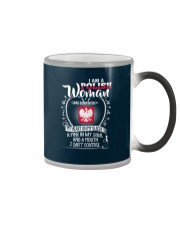 I'm a Polish Woman - I Can't Control Color Changing Mug tile