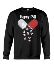 French Bulldog Happy Pill Shirt Frenchie Mom Dad G Crewneck Sweatshirt thumbnail