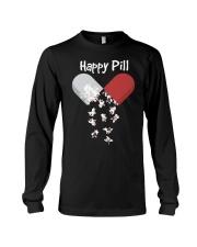 French Bulldog Happy Pill Shirt Frenchie Mom Dad G Long Sleeve Tee thumbnail