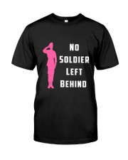 No Soldier Left Behind Classic T-Shirt thumbnail
