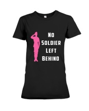 No Soldier Left Behind Premium Fit Ladies Tee thumbnail