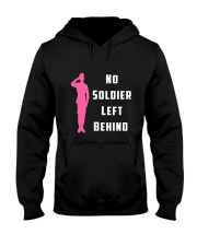 No Soldier Left Behind Hooded Sweatshirt thumbnail