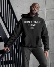 THE MASKED SINGER DON'T TALK TO ME Hoodie Hooded Sweatshirt apparel-hooded-sweatshirt-lifestyle-front-10
