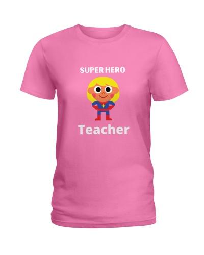 super hero teacher