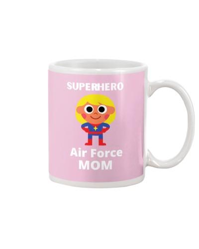 superhero air force mom