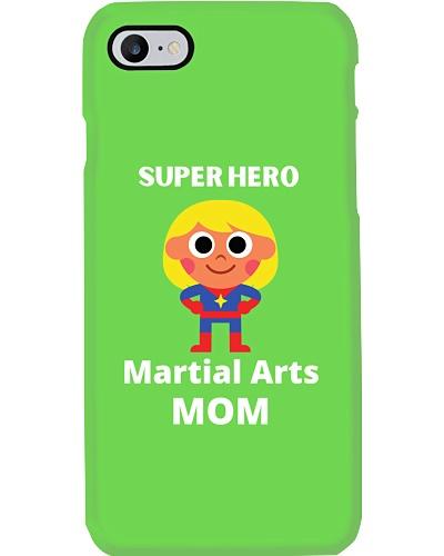 superhero martial arts mom