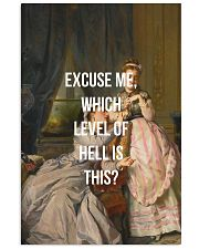 Excuse Me Vertical Poster tile